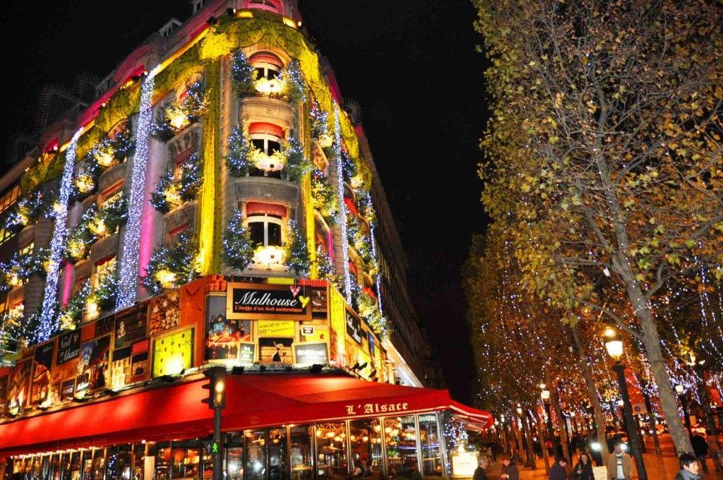 Фото зима из парижа